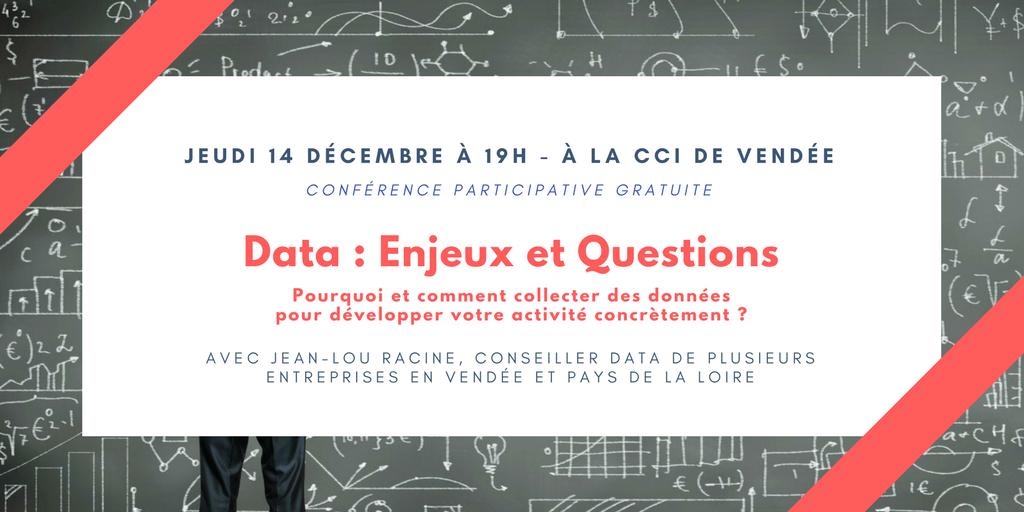 présentation conférence data cci de vendée 14 décembre 2017 à la roche sur yon